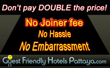 Hotels no joiner fee
